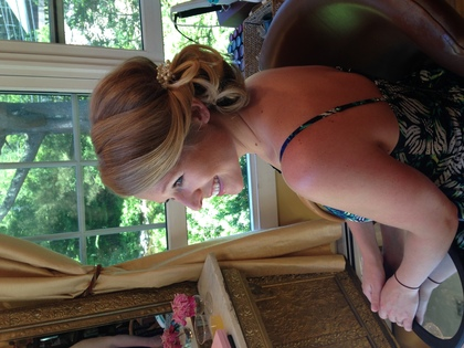 Hairstyles - Kelly and Matthew's Wedding in Jackson, NH, USA