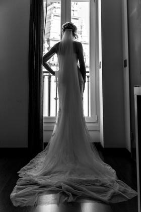 The Wedding Dress - Natalia and Tony´s Wedding in Madrid, Spain