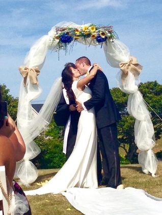 The Ceremony - Desiree and Gregory 's Wedding in new shoreham, ny