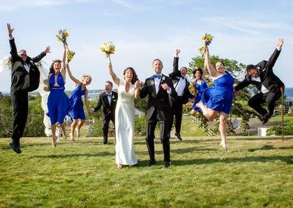 Wedding Party Attire - Desiree and Gregory 's Wedding in new shoreham, ny