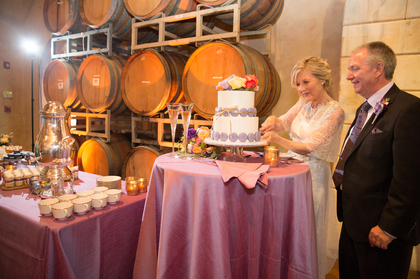 Crisp Bake Shop (Sonoma) - wedding cake, cake shooters, macaroons, and more! Cakes and Desserts - Marcie and Duane's Wedding in Sonoma, CA, USA
