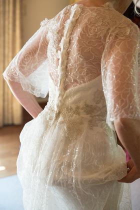 Couture design by Claire Pettibone. www.clairepettibone.com/ The Wedding Dress - Marcie and Duane's Wedding in Sonoma, CA, USA