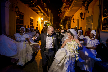 Carolina and Rafael Wedding in Cartagena, Bolivar, Colombia
