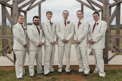 Groomsmen attire Wedding Party Attire - Harrisonburg Wedding In September in Harrisonburg, VA, USA