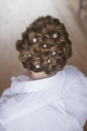 Maid of Honor's hair Hairstyles - Harrisonburg Wedding In September in Harrisonburg, VA, USA