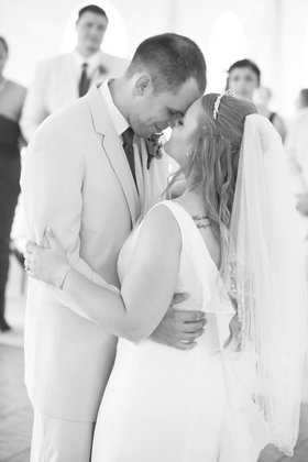 Our first dance as Mr and Mrs The Newlyweds - Harrisonburg Wedding In September in Harrisonburg, VA, USA