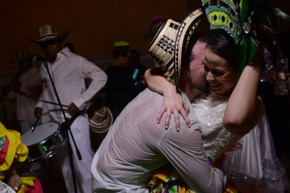 The Newlyweds - Melanie and David's Wedding in Cartagena, Bolivar, Colombia