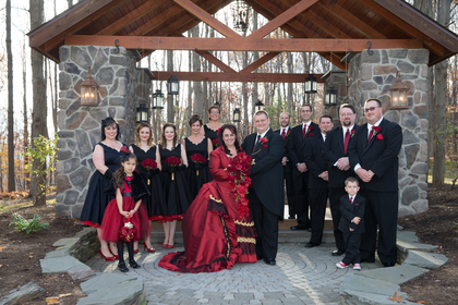 Wedding Party Attire - William & Amber's Wedding - Stroudsburg, PA in Stroudsburg, PA, USA