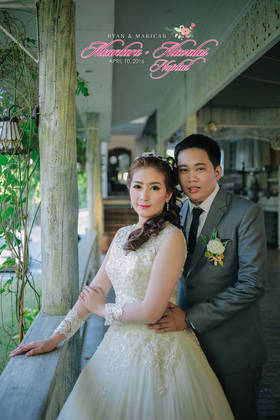 The Newlyweds - Ryan and Maricar's Wedding in Bulacan, Philippines