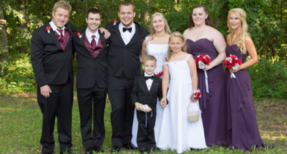 Wedding Party Attire - Des Moines Wedding In June in Des Moines, IA, USA