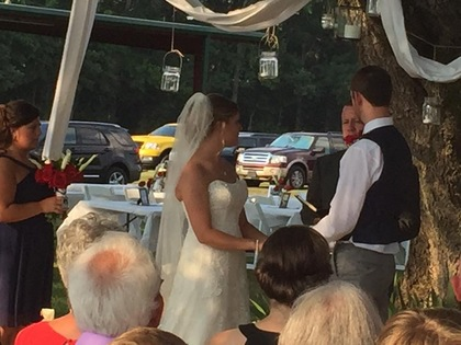 The Ceremony - Lonoke Wedding In June in Lonoke.ar, AR 72086, USA