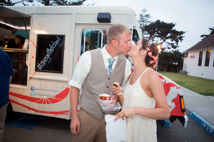 Sweet Treats Food Truck was SO much more fun than a traditional wedding cake! Cakes and Desserts - Ali and Ethan's Wedding in Carlsbad, CA, USA