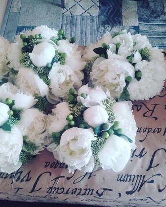 Peonies Flowers and Decor - Gemma and Louis's Wedding in Marbella, Spain