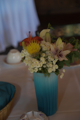 Flowers and Decor - Our Wedding in Nappanee, IN, USA