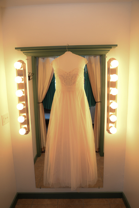 The Wedding Dress - Our Wedding in Nappanee, IN, USA