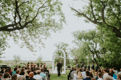 The Ceremony - Northwood Wedding In May in 4440 3rd Ave NE ND 58267, Northwood, ND 58267, USA