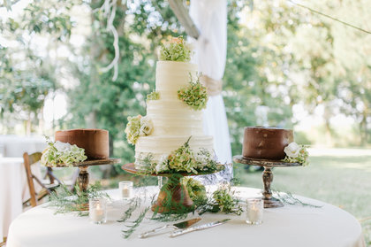Cakes and Desserts - Taylor and Kyle's Wedding in Charleston, SC, USA
