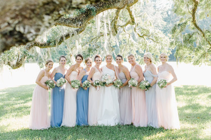 Wedding Party Attire - Taylor and Kyle's Wedding in Charleston, SC, USA