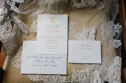 The Invitations - Taylor and Kyle's Wedding in Charleston, SC, USA