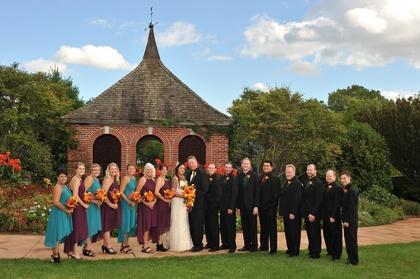 Wedding Party Attire - Ranee and Jon's Wedding in Green Bay, WI, USA