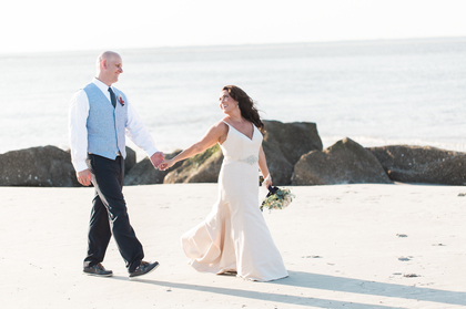 The Newlyweds - Jessica and Jason's Wedding in Tybee Island, GA Near Savannah, USA
