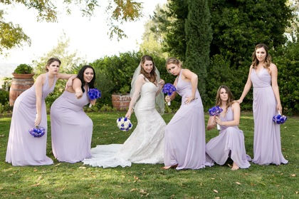 Wedding Party Attire - Temecula Wedding In December in Temecula, CA, USA