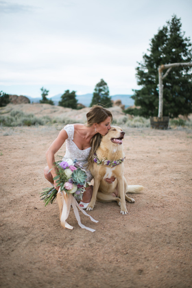 Flowers and Decor - Gunnison Wedding In July in Gunnison, co