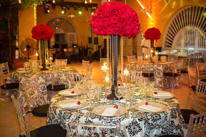 Flowers and Decor - Cartagena Wedding In August in Cartagena, Bolivar, Colombia