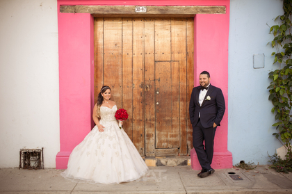 The Newlyweds - Cartagena Wedding In August in Cartagena, Bolivar, Colombia