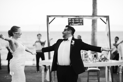 Wedding photography by Julien Leveau in Puerto Vallarta, Mexico The Newlyweds - James and Mary's Wedding in puerto vallarta