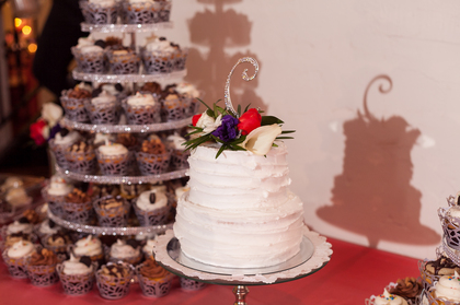 Cakes and Desserts - Leesa and Raymond's Wedding in 132 E. Queen Street, 23669, VA 23669, USA