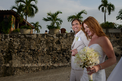 Robyn and Eduardo's Wedding in Cartagena, Bolivar, Colombia